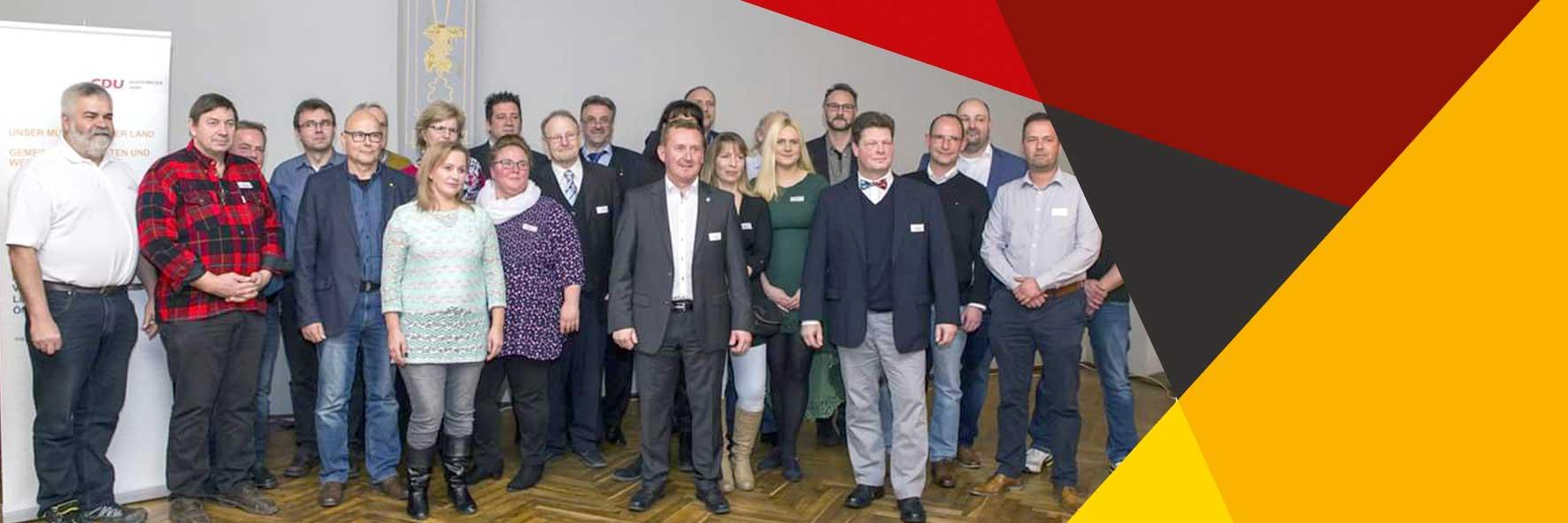 Mitglieder der CDU Mühlenbecker Land